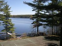 Luxury Lakefront Condo Moose Pond Bridgton Across from Shawnee Peak Ski Area