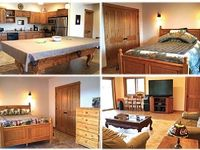 2 BR 2BA Sleeps 6 with Mountain Views and River Pond Access