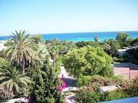 Apartment of about 60m with 2 bedrooms living room and superb sea views