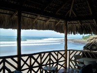 Epic Ocean Front Surf House in La Libertad El Cocal Beach