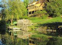 Retraite au bord du lac de Catskill Mountain Hudson Valley