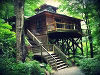 Zen Mountain House cabine 25 mi de Asheville