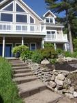 Maison neuve avec 200 pieds de waterfron priv