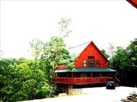 NEW LUXURY-DELUXE CABIN NESTLED IN THE SMOKIES-SCENIC VIEWS-MANY AMENITIES WIFI