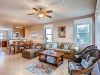 Oceanside dog-friendly condo with resort pools and a gym close to the beach