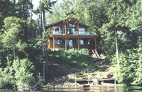 Pender Island - Magic Lake House - LAKEFRONT