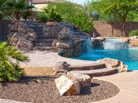 Resort Style Home - Salt Water Pool Spa Waterslide Grotto