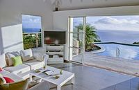 St Bart Villa Rental Governor 3bed sea view pool
