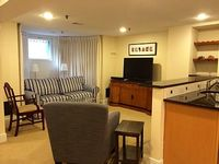1 Queen Bedroom 1 Bath English Basement Apartment With Sofa Bed Sleeps 4