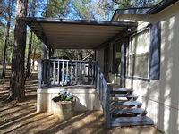 NEW Cool Escape in the Pines- great summer rates potential snow in the winter