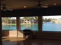 WATERFRONT LUXURY RETREAT 5 Bedroom Custom Home w private heated pool spa