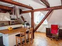 4+ bedroom loft penthouse in medieval building with stunning Old Town views