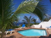 Charming Cottage ALIZE dominant beautiful sea view with pool and garden
