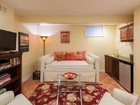 Sunny Large Fully-Furnished Apt gated separate entrance