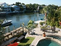 Large Private Home On Water With Pool Spa On 1Beach In Us - Siesta Key