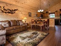 Resort Cabin Media Game Room 2 King Suites WIFI Close to Dollywood GSMNP