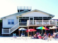 Laughin Place Upstairs -on the Beach and the Creek -Sleeps 4