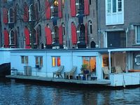 Pantheos houseboat is located on one of the best spots on the water in centre