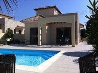 Villa in Pissouri Limassol Cyprus - Quiet Location with Stunning Panoramic Sea and Hillside Views