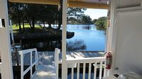 Waterfront Cozy Cottage On Cow Creek With Dock Canoe Kayaks Fishing