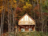 Gatlinburg Cabin Peaceful Private Paradise with Mountain View