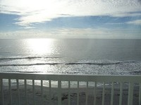 All the comforts of home plus the ocean steps away