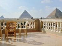 Rooftop apartment in Giza facing the Pyramids and Sphinx with A C barbecue