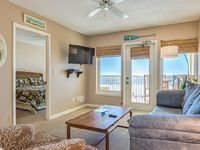 Boardwalk 285 - Gulf Front Condo in Heart of Gulf Shores Free Wi-Fi Easy Walking Distance to Shops Restaurants Outdoor Pool with Huge Pool Deck on the Beach