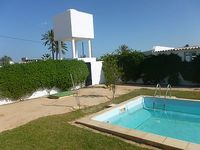 A stylish range of high villa refined in the city center midoun