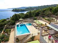 Villa in Port of Gaios Paxos Greek Islands Greece - Sea Views BBQ Infinity Pool Garden Peaceful