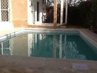Villa with pool 150 m from the sea