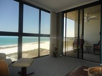 Condo Directly On The Beach With Amazing Gulf Views 1 Br 2 Full Baths
