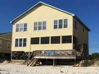 Sandcastle 6BR Oceanfront PET friendly Vacation Rental South End of Pawleys
