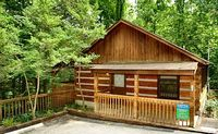 Moonshine Madness cabin is withing walking distance to downtown Gatlinburg