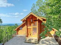 Smoky Mountain Cabin EMERALD CITY LIGHTS 203