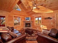 Affordable yet luxurious 2 bedroom log cabin