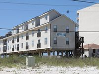 3 bedroom 2 bath condo on the beach in Gulf Shores Great views of Beach