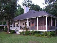 Lowcountry Home on Deep Water Private dock covered pier head