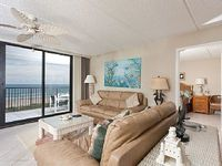 Spacious 3 bedroom condo with a beach and laguna madre views - 508