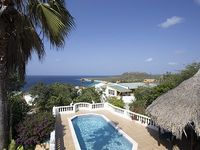 Villa Totolika Is Enchantingly Located Up Hill From Playa Cas Abou