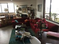 Fully furnished 2 Bdr apart with balcony and fantastic view on Quito monta