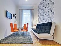 Apartment 622 m from the center of Riga with Internet Lift Washing machine 432440