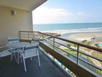 3-BR 3-BA Oceanfront Condo North Tower Sleeps 8 Wi-Fi Pools Volleyball