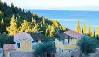 Private pool Villa 2 bedroom 2 bathroom Sea Views private villa in Lakka