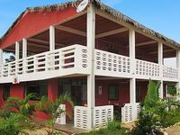 Seaside apartment in north-west Madagascar w garden terrace 100m from Amborovy Beach