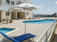 Luxury Apartment in Larnaca Cyprus with air con terrace and sea views sleeps 4