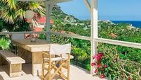 Luxurious villa in Gustavia St Barth lemy with pool sea views and WiFi - 500 metres to the beach