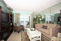 Surfside Shores 1503 - Newly Updated Experience Calm Sophistication for your Vacation Accommodation Beach Front Gulf Shores Free WiFi Grilling Area Outdoor Pool and Hot Tub