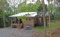 Very Private Rustic Log Cabin - Nashville Tennessee