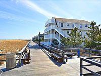 Oceanfront Condo 1br 1ba Sleeps 4 1st Fl W pvt Deck Steps To Brdwalk And Beach